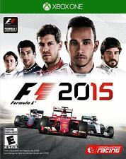 NEW F1 2015 (Microsoft Xbox One, 2015)
