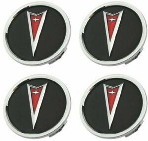 Chrome Wheel Center Cap Set 2004-2006 Pontiac GTO and 2008-2009 G8 GT GXP