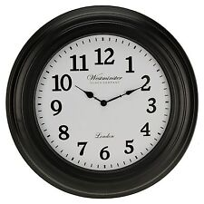 Grand 50 Cm Westminster Horloge murale Décoration maison moderne Chiffre Rond Time Display