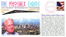 COVERSCAPE computer designed 20th anniversary of the Phoenix Lights event cover