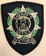 Victoria Sheriff's Office Australia Police Sheriff Patch