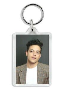 Rami Malek (Bohemian Rhapsody, Mr. Robot) Keyring / Bag Tag *Great Gift*
