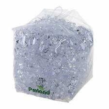 PMLAND Clear Acrylic Ice Rocks Crystals Cubes Gems 3lbs Bulk Bag for Table Decor