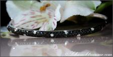 Unbehandelte Echtschmuck-Armbänder im Armreif-Stil mit Diamant