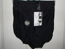 New Marks & Spencer High Leg Black Knickers - UK Size 26