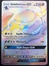 Carte Pokemon GROTADMORV 157/147 GX RAINBOW Soleil et Lune 3 SL3 FR NEUF