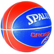 SPALDING NBA Cross Over Orange/Blue Indoor/Outdoor Basketball (size 7)
