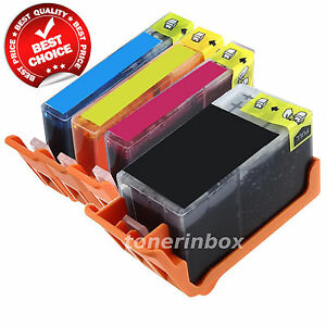 4 Pack Generic Ink For HP 920XL OfficeJet 6000 6500 6500a 7000 7500a INK LEVEL