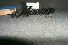 NOS Tail Gate Emblem 1974 1975 1976 Mercury Montego MX Villager Station Wagon 76