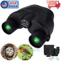 Day/Night Vision 10x25 Zoom HD Binoculars BAK4 Prism FMC Zoom Telescope