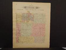 Missouri Vernon County Map Center Township 1903 Dbl Side  L11#04