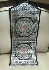 Beautiful Indian Silk Brocade Wall Hanging Letter Holder medallion Design