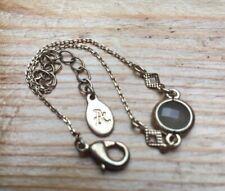 Lovely Dainty Taupe Stone Set Bracelet/Gold Tone/Acessorize/Monsoon/Simple