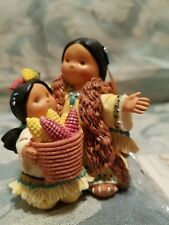 """Enesco """"Thankful For Amaizing Gifts"""" Friends Of The Feather Figurine Nwt Ec"""