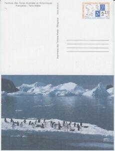 Français Antarctique Taaf Entier Postal Amiral Max Douguet Pingouins (MNH)