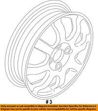 FORD OEM 11-16 Fiesta Wheel-Spare Wheel BE8Z1007A