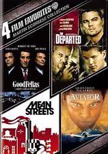 4 Film Favorites Martin Scorsese Coll 0883929230143 DVD Region 1
