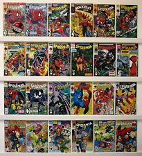 Spider-Man  Lot of 46 comics   NM  may be a few lower   see below for issue #'s