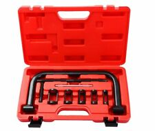 Auto Valve Spring Compressor C Clamp Tool Set for Motorcycle, ATV, Cars W/Case