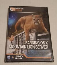 Infinite Skills Learning OS X Mountain Lion Server DVD Training