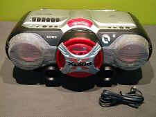 Sony CFD-G505 CD/CD-RW Playback/Cassette/Radio/CD-R Playback Boombox NICE