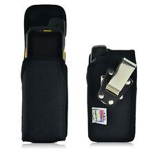 Turtleback Sonim XP7 Nylon Vertical Pouch Holster Phone Case, Metal Belt Clip