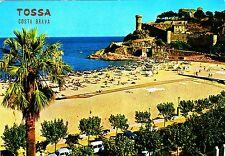 Tossa, Costa Brava, postal, 1972 corriendo