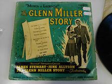 "THE GLENN MILLER STORY MUSICA Y LAGRIMAS LP VINYL 10"" COLUMBIA SPANISH EDITION"