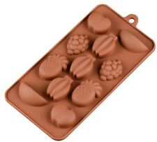 Fresh Fruits Chocolate Fondant Clay Jelly Soap Silicone Mold Molder