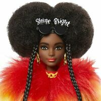 NEW 2020 Mattel Barbie Extra Doll Rainbow Coat Pet Poodle NEW