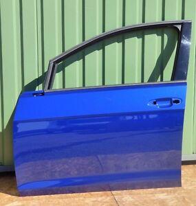 VW Golf 7 VII Tür vorne links  ohne Delle o. kratze 5G4833312B Blau