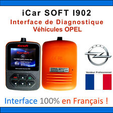 Valise Diagnostique OPEL - iCar SOFT I902 - OPEL OP - GM TECH COM OBDII SCANNER