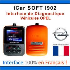 Valise Diagnostique OPEL - iCarSOFT I902 - OPEL OP - GM TECH COM - OBD2 SCANNER