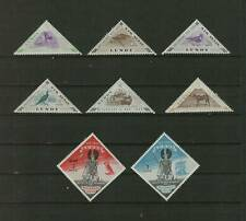 LUNDY MILLENARY ISSUES PUFFIN LOCAL POST LOT / 8 MNH