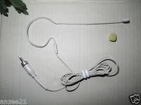 Pro BEIGE single ear Headset Microphone For Sennheiser G1 G2 G3 Wireless