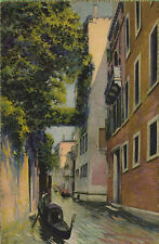 Vintage  Postcard VENICE ITALY Rio Albrizzi