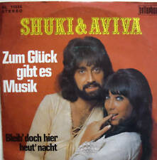 "7"" 70´s ! SHUKI & AVIVA Zum Glück gibt es Musik //VG+\"