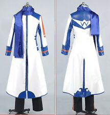 Vocaloid 2 Kaito cosplay costume white & blue Any Size