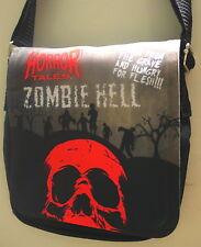 Goth Horror Punk Cine B señoras pequeño bolso de hombro-Zombie Hell