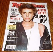 JUSTIN BIEBER ROLLING STONE Magazine #1125 March 2011 Super Boy Conor Oberst