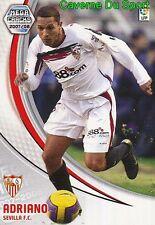 284 ADRIANO BRAZIL SEVILLA.FC CORITIBA.FC TARJETA CARD MGK LIGA 2008 PANINI