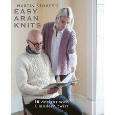 Martin Storey's Easy Aran Knits Pattern Book 10 Designs