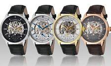 Relojes de pulsera automático de cuero
