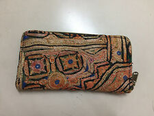 Indian Vintage Women Pouch Ethnic Hippie Tribal Clutch Handmade Embroidery Bag