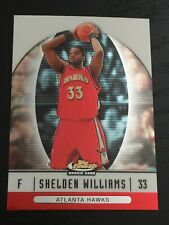 2006-07 Finest SHELDEN WILLIAMS RC #82 basketball card ~ Duke / HAWKS rookie F1