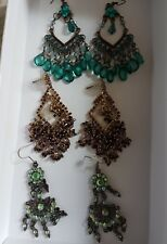 Artificial Jewellery  3 pairs