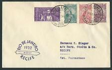 ZEPPELIN LZ 127 RIO DE JANEIRO-RECIFE 16 SET 1932