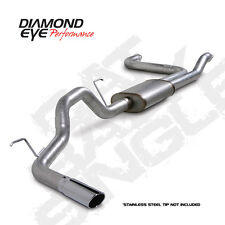 "Diamond Eye 3.5"" Aluminized Cat Back Exhaust System for 07-09 Nissan Titan 5.6L"