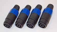 4 Stück Speakon kompatible Kupplungen 4pol.female (Kabelbuchse) zur Verlängerung