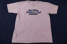 Men's Publish Brand Gray Happy Frame of Mind T-Shirt size Large